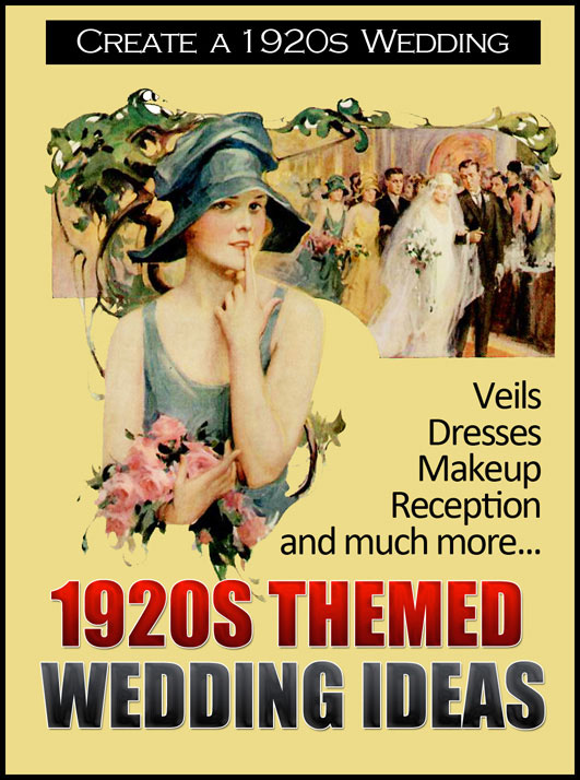 Create your own 1920s Themed Wedding with ideas from this eBook
