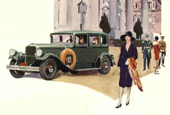 1929 Car and Fashion